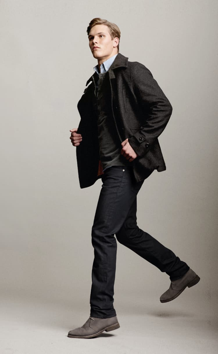 Male model wearing Shade 55 apparel