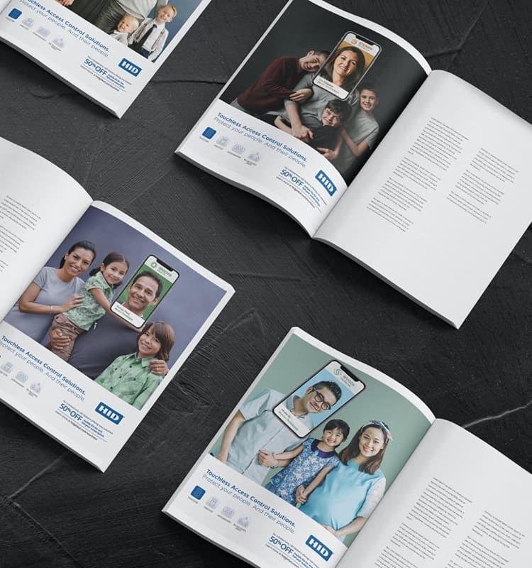 HID print ads