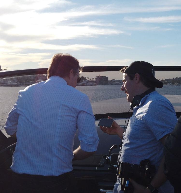 Jeff Gordon at the wheel