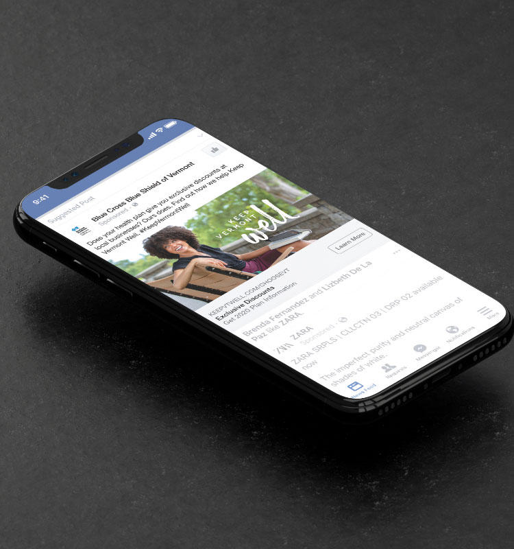Mobile Facebook Ad